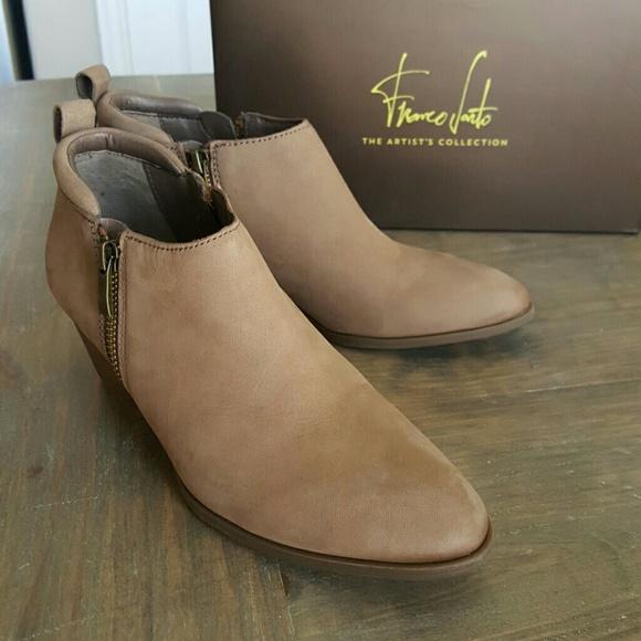 Drop Franco Sarto Leather Bootie | Poshmark