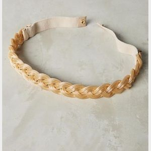 Anthropologie Accessories - New Anthropologie Lucent Gold Braided Belt