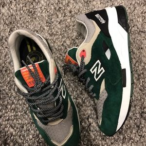 New Balance Other - NEW BALANCE 1600 RACING PACK GREEN SUEDE/ORANGE