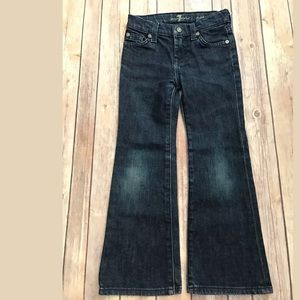 7 for all mankind girls boot cut jeans Sz 5