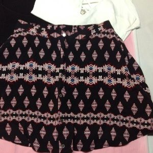 Express Pants - Tapestry button front SKORT