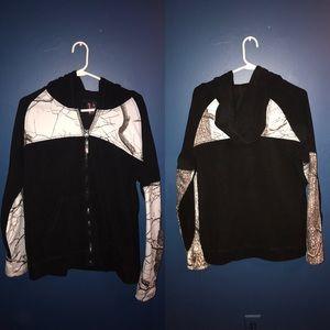 Camo Tops - Women's Camo fleece zip up