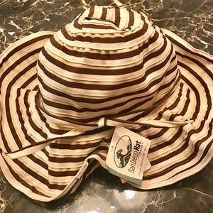 San Diego Hat Company Accessories - San Diego Hat Company Striped Mini Floppy Hat