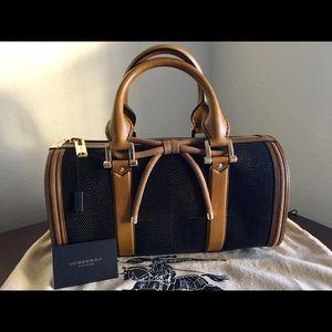 52ab7752369 Burberry Bags   Prorsum Dark Marigold Barrel Handbag   Poshmark