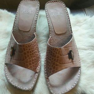 Paolo Pecora Shoes - Linea Paolo Trista Black Heels Pumps Dress Shoes S