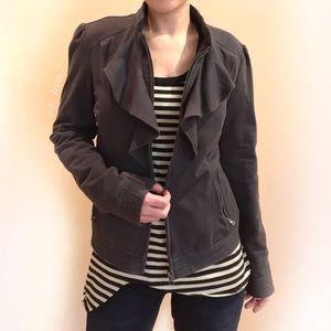 Kut from the Kloth Jackets & Blazers - Ruffled front full zip jacket