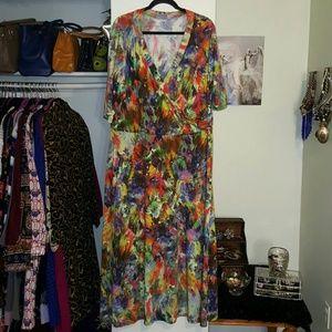 Avenue Dresses & Skirts - Avenue Multi-color Maxi Dress