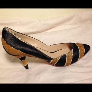 Loeffler Randall Shoes - Loeffler Randall Animal Print Calf Hair Heels