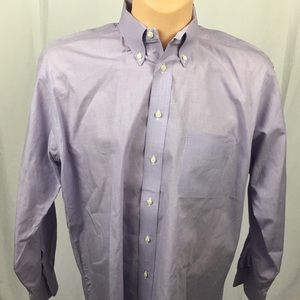 Gitman Brothers Other - Gitman Bros Dress Shirt 17/34 Mens Purple Oxford