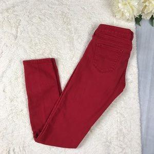 Arizona Jean Company Denim - Arizona Red Skinny Jeans