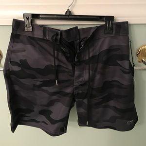 Stampd Other - Stampd Black Camo Bathing Suit