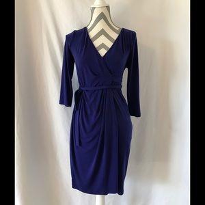 Violet Maternity Wrap Dress