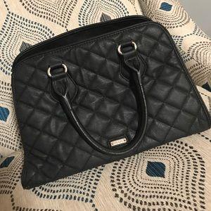 Aldo Handbags - ALDO - Black Quilted Handbag.