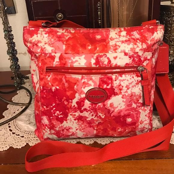 37% Off Coach Handbags - Coach Poppy Floral Red Crossbody Bag Purseud83cudf81ud83dudc90 From Dazzle Boutique Ud83dudc8du0026#39;s ...