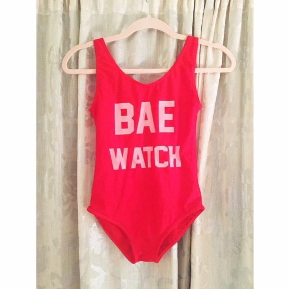 415fc6e1a79 BAE Watch One Piece Swimsuit. M 58ddb95056b2d6cb7a00d9c3