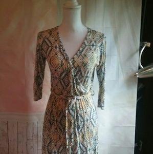 market & Spruce  Dresses & Skirts - Market & Spruce Faux wrap dress size Small