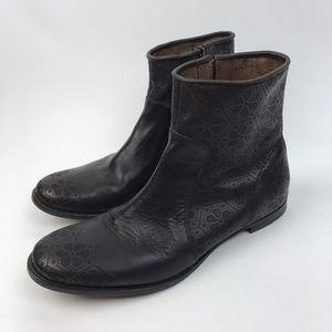 Diesel Black Gold Other - [Diesel Black Gold] Men's Tooled Leather Boots 44