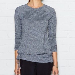 Lucy Tops - NWT Lucy Tech Gray Long Sleeve Workout Top
