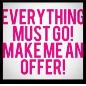All must go ASAP. Make an offer!