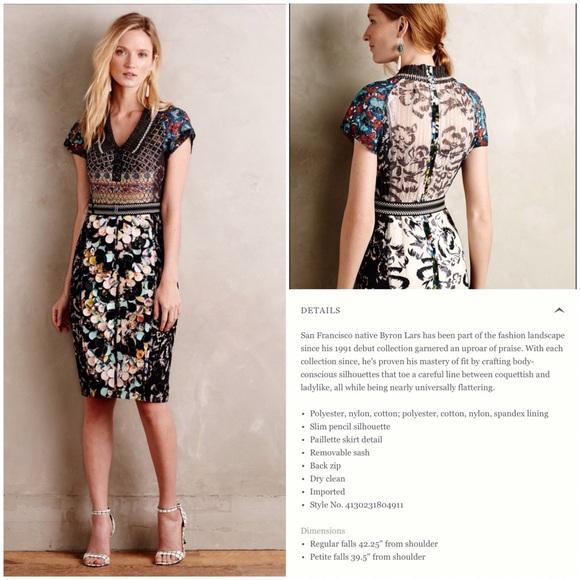 6e8ae5f8074 NWT Beguile by Byron Lars Margot Pencil Dress - 10