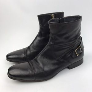 To Boot Other - [To Boot New York] Hall Rear Buckle Boots Leather