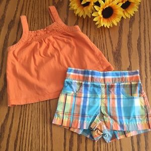Gymboree Other - Gymboree Tank And Shorts Set 18-24months