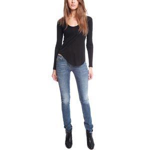 Acne Denim - Kex Le Blu Skinny Jeans, Acne