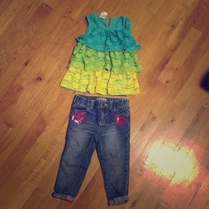 Amy Coe Other - Cute 18-24 month girls outfit.❤😜