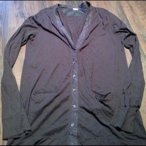J Crew Thin Button Cardigan Size L