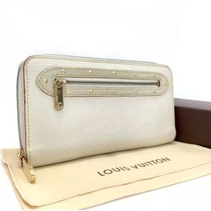 Louis Vuitton Suhali Leather Zip Around Wallet