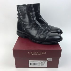 To Boot Other - [To Boot New York] Hawthorne Black Leather Boots