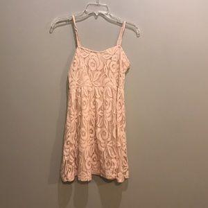 Pink Lace Tobi dress
