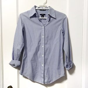 Gap fitted cotton dress shirt