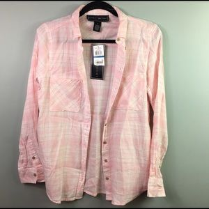 Polly & Esther Tops - Women's NWT Polly&Esther Button Down Shirt Size S