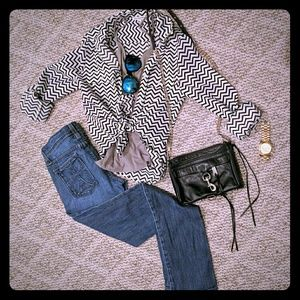 American Eagle Outfitters Tops - AEO Chevron Top
