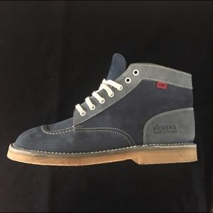 Kickers Other - Elvis Approved Men's BLUE SUEDE SHOES KICKERS