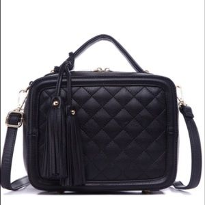Pink Haley Handbags - Pink Haley Quilted Box Purse