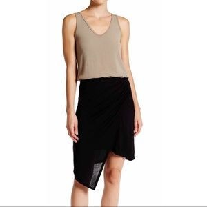 Michael Stars Dresses & Skirts - Asymmetrical Draped Wrap Skirt