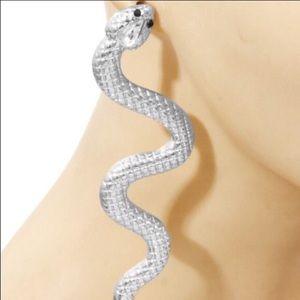 Jewelry - Large Snake Earrings