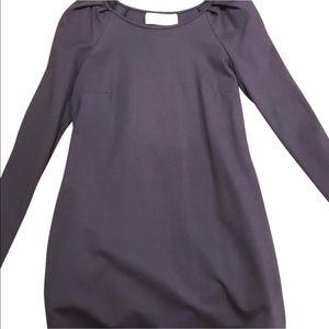 Rebecca Minkoff grey pocket dress