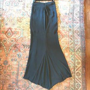 L'AGENCE Dresses & Skirts - L'agence Silk Full Length Fishtail Skirt