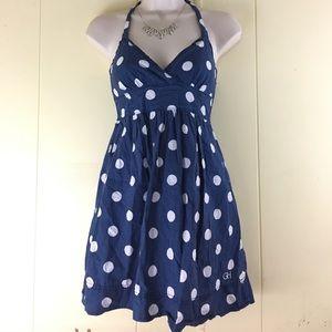 Gilly Hicks Dresses & Skirts - Gilly Hicks Summer Mini Dress, Blue Polka Dot