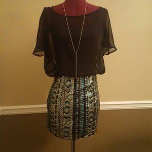 ALLOY Dresses & Skirts - Sequin Cocktail Dress