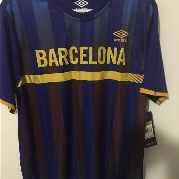 UMBRO Men s Barcelona Soccer T Shirt Jersey fc01381b6