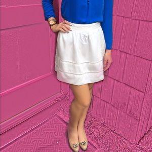 The Gap Eyelet Cotton Skirt