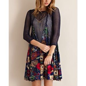 """Bare Anthology Tops - """"A Fable"""" netted pullover dress or tunic"""
