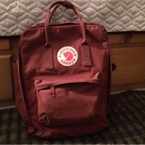 Fjallraven Handbags - Fjallraven Kanken ox red backpack