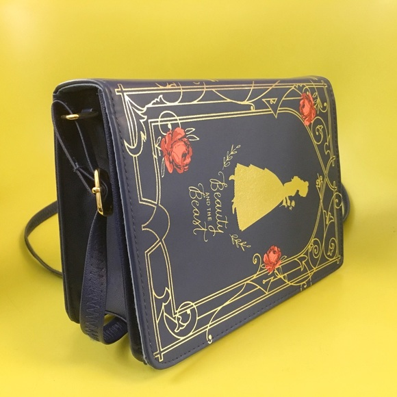 Beauty and The Beast Book Cover Purse