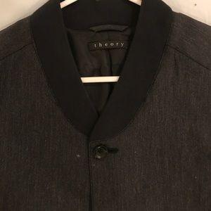d645fd56bb28 Theory Jackets & Coats | Suiting Bomber Jacket | Poshmark