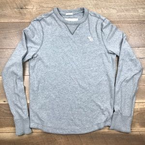 Abercrombie & Fitch Other - Abercrombie & Fitch Muscle Long Sleeve Crewneck